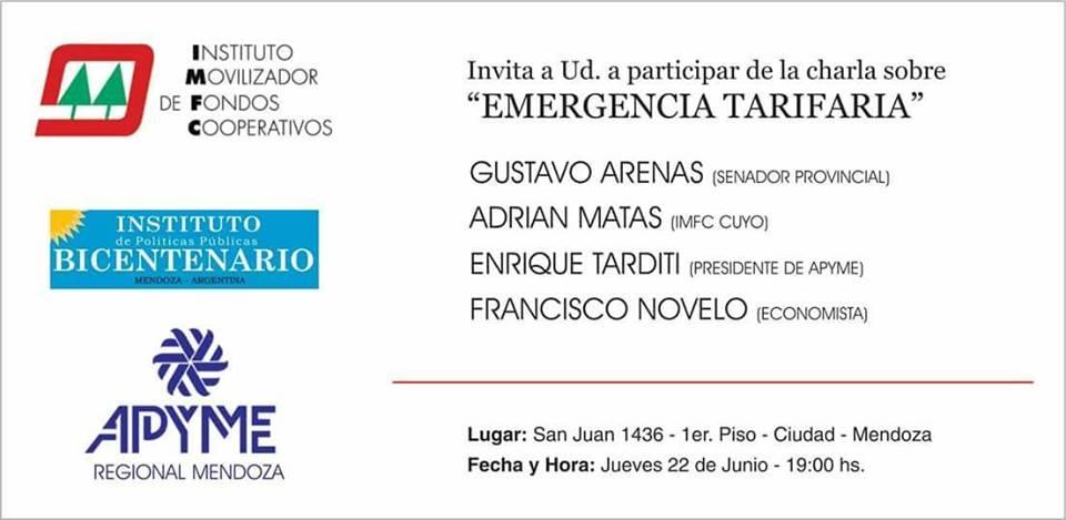 Charla sobre Emergencia Tarifaria